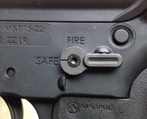 BATTLE ARMS DEVELOPMENT BAD A.S.S AMBIDEXTROUS SAFETY SELECTOR for S&W M&P 15-22