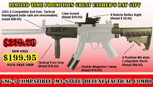 Visit Combat Optical for GSG-5 Accessories Galore