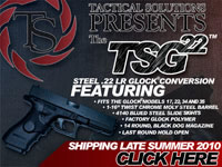 Tactical Solutions TSG-22 GLOCK .22 Conversion