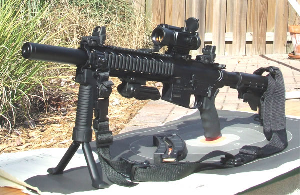 M&P 15-22 Barrel Shroud